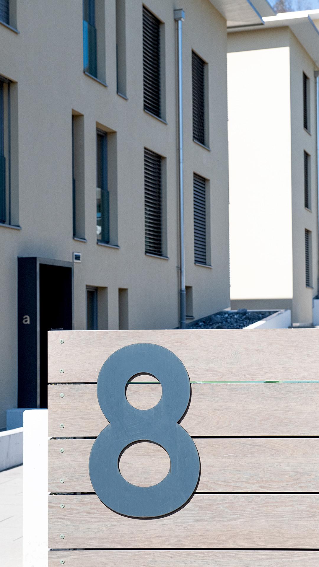 Hubli und Landolt AG, Referenzen, Wohnbauten, Mehrfamilienhäuser