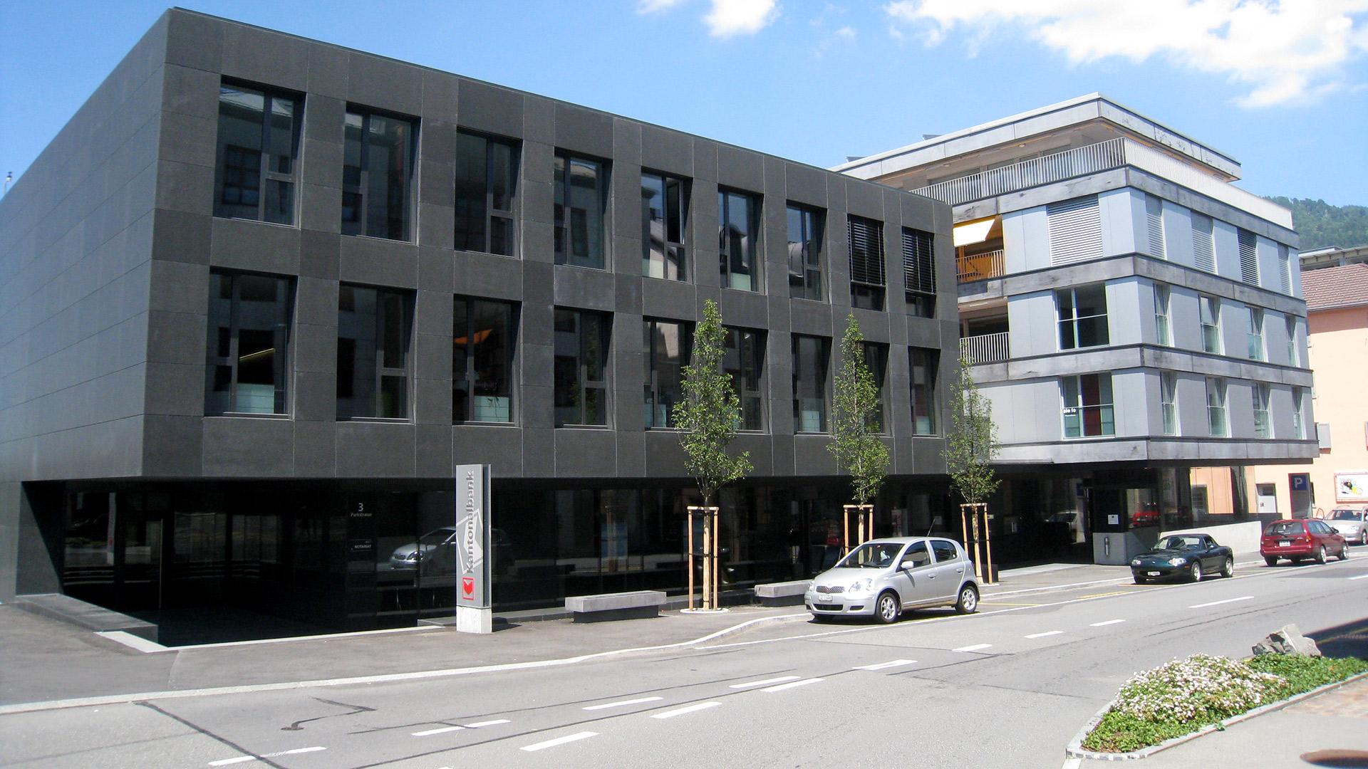 Hubli und Landolt AG, Referenzen, Geschäfts-Gewerbebauten